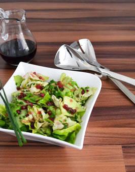 willkommen bei behr kopfsalat mit preiselbeer vinaigrette. Black Bedroom Furniture Sets. Home Design Ideas