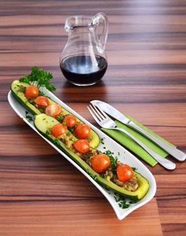 willkommen bei behr gebackene zucchini. Black Bedroom Furniture Sets. Home Design Ideas
